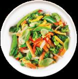 Wok de légumes Thaï